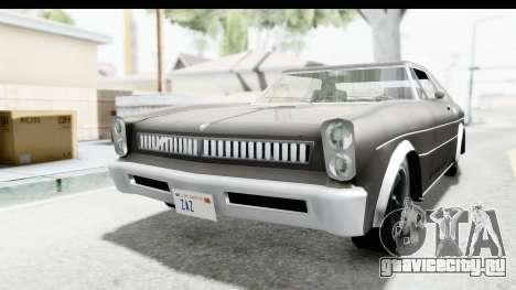 Imponte Tempest 1966 для GTA San Andreas вид справа