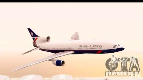 Lockheed L-1011-100 TriStar British Airways для GTA San Andreas