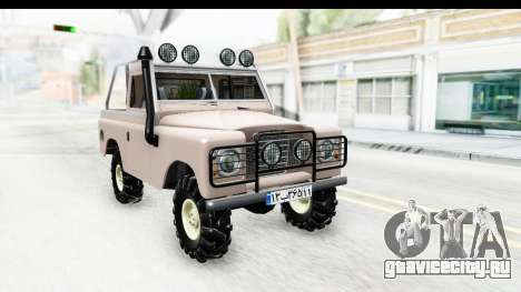 Land Rover Pickup Series3 для GTA San Andreas