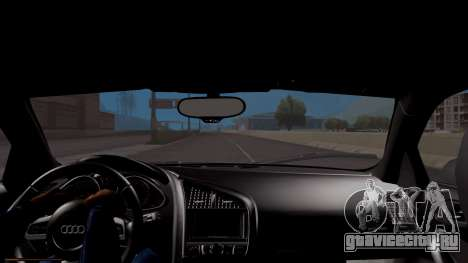 Audi R8 5.2 FSI Quattro 2010 для GTA San Andreas вид справа