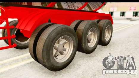 Trailer Fuel для GTA San Andreas вид сзади