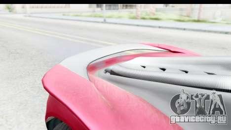 GTA 5 Pfister 811 with Mip Map для GTA San Andreas вид сзади