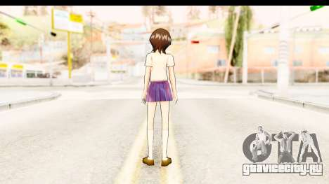 Bleach - Rukia v3 для GTA San Andreas третий скриншот