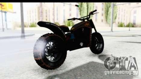 GTA 5 Western Gargoyle Custom v1 для GTA San Andreas вид слева