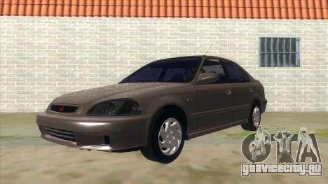 Honda Civic Sedan Stock для GTA San Andreas