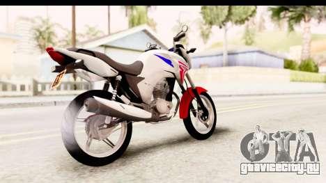 Honda CG150 для GTA San Andreas вид сзади слева