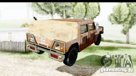 Rusted Patriot для GTA San Andreas вид слева