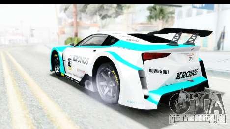 GTA 5 Emperor ETR1 v2 IVF для GTA San Andreas салон