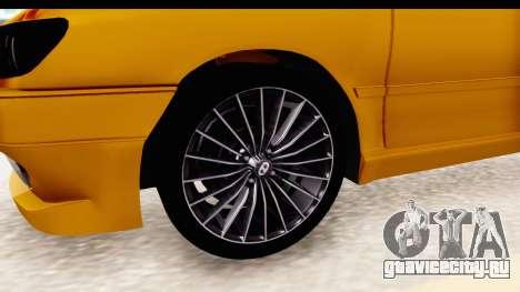 Peugeot 306 GTI для GTA San Andreas вид сзади
