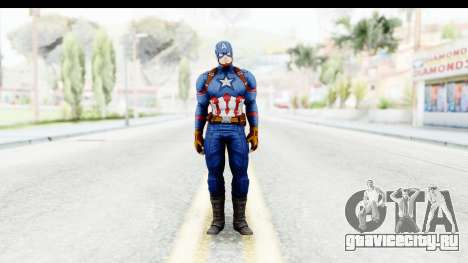 Marvel Heroes - Capitan America CW для GTA San Andreas второй скриншот