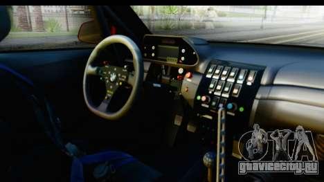 BMW M235i HGK для GTA San Andreas вид изнутри