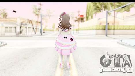 CGSS - Uzuki Peacefull Dance Rilaneko для GTA San Andreas третий скриншот