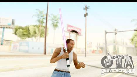 Sword Art Online II - Kiritos Saber для GTA San Andreas третий скриншот