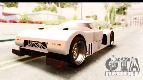 GTA 5 Annis RE-7B для GTA San Andreas вид слева
