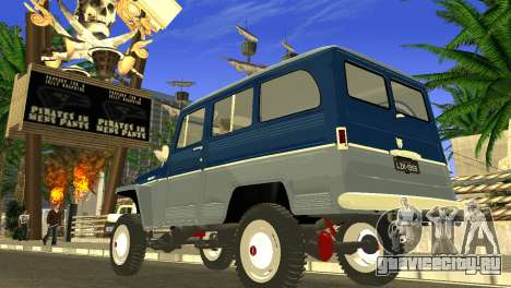 Jeep Station Wagon 1959 для GTA San Andreas вид слева