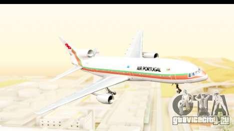 Lockheed L-1011-100 TriStar TAP Portugal для GTA San Andreas вид сзади слева
