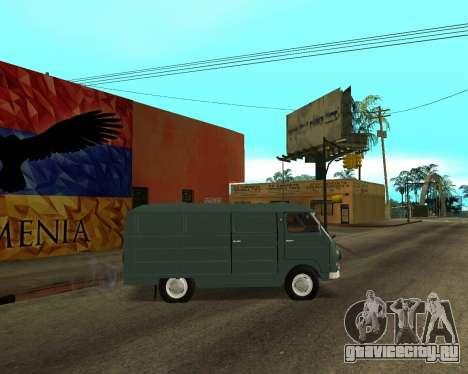 Eraz 762 Armenian для GTA San Andreas вид изнутри