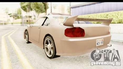 Annis Elegy 1998 для GTA San Andreas вид сзади слева