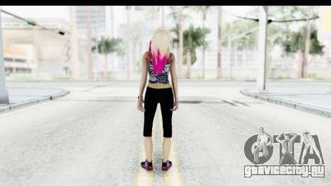 Summer Ombre Hair для GTA San Andreas третий скриншот