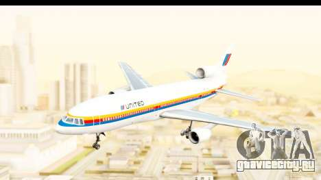 Lockheed L-1011-100 TriStar United Airlines для GTA San Andreas