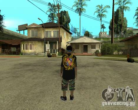 New Armenian Skin для GTA San Andreas второй скриншот
