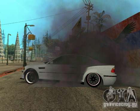 BMW M3 Armenian для GTA San Andreas колёса
