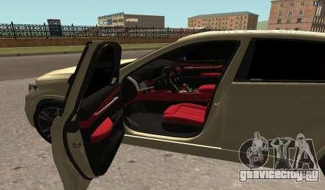 BMW X6M Bulkin для GTA San Andreas вид слева
