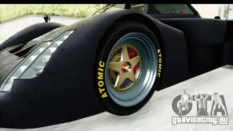 GTA 5 Annis RE7B для GTA San Andreas вид сзади
