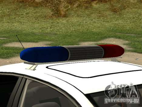 Volkswagen Passat ДПС для GTA San Andreas вид справа