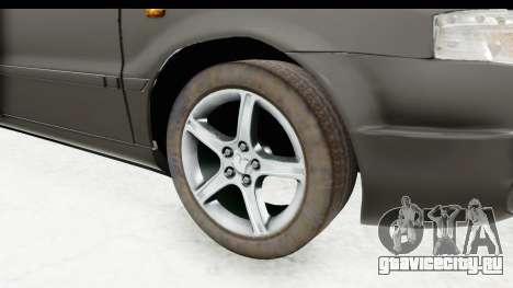 Ikco Samand Pickup v1 для GTA San Andreas вид сзади