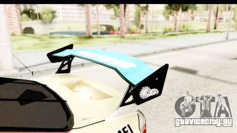 D1GP Nissan Silvia RC926 Toyo Tires для GTA San Andreas вид сбоку