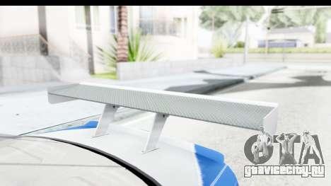 NFS: MW - BMW M3 GTR для GTA San Andreas вид изнутри