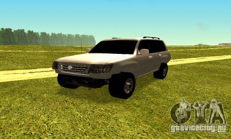 Toyota Land Cruiser 105V для GTA San Andreas вид справа