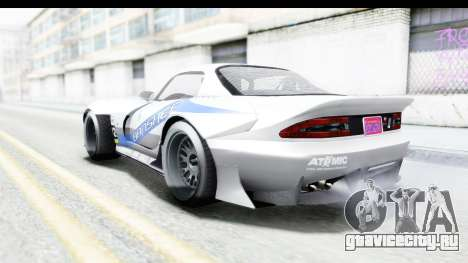 GTA 5 Bravado Banshee 900R Mip Map IVF для GTA San Andreas двигатель
