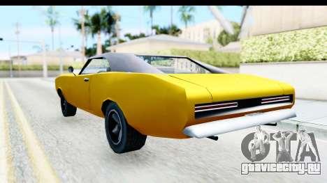 Imponte Dukes 1971 для GTA San Andreas вид слева