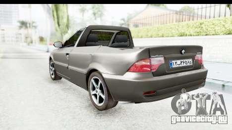 Ikco Samand Pickup v1 для GTA San Andreas вид слева
