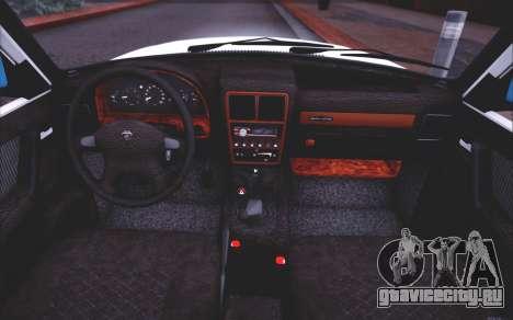 ГАЗ 3110 Качественный Сток для GTA San Andreas вид сверху