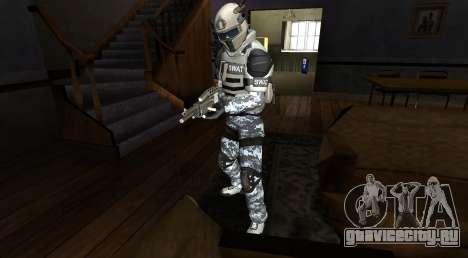 Elite GENSEC PAYDAY 2 SWAT Unit для GTA San Andreas второй скриншот