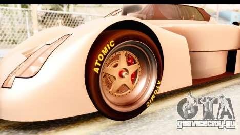 GTA 5 Annis RE-7B для GTA San Andreas вид сзади