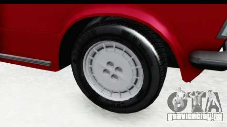 Zastava 125PZ Roadster Coupe для GTA San Andreas вид сзади