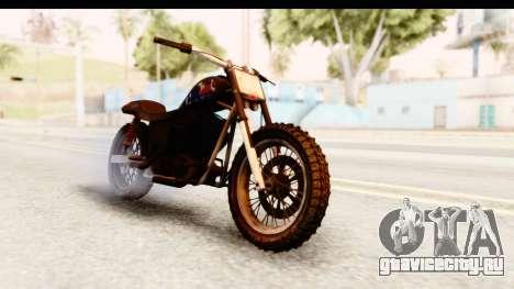 GTA 5 Western Cliffhanger Custom v2 IVF для GTA San Andreas вид справа
