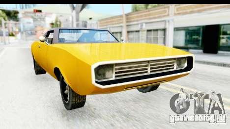 Imponte Dukes 1971 для GTA San Andreas вид справа