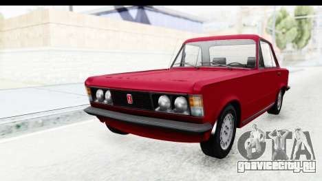 Zastava 125PZ Roadster Coupe для GTA San Andreas