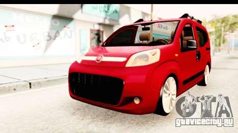 Fiat Fiorino v2 для GTA San Andreas вид справа