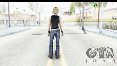 Silent Hill 3 - Heather Sporty Black Pennywise R для GTA San Andreas третий скриншот