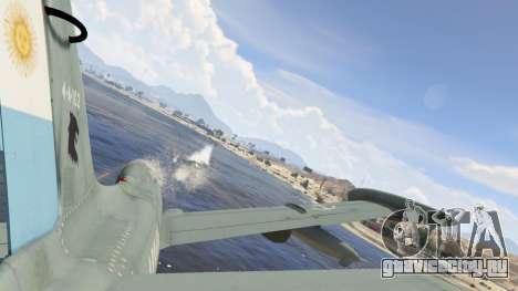 AT-26 Impala Xavante ARG для GTA 5 шестой скриншот