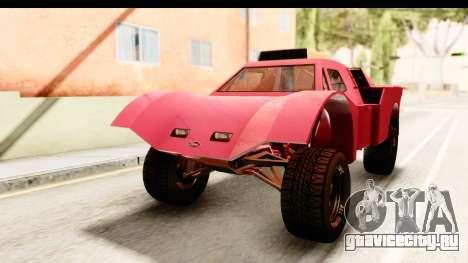 GTA 5 Desert Raid IVF для GTA San Andreas вид сзади слева