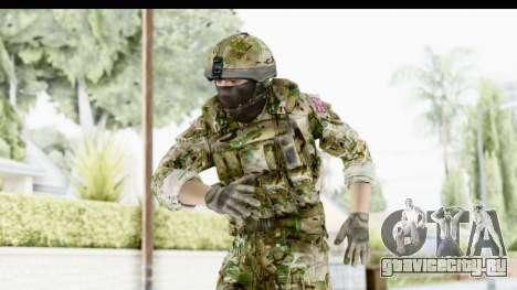 Global Warfare UK для GTA San Andreas