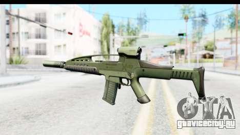 H&K XM8 Silenced для GTA San Andreas второй скриншот