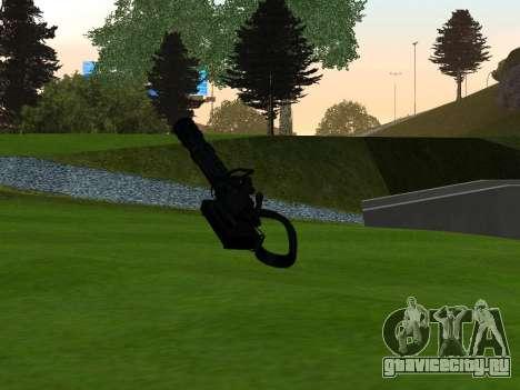 M134 MINIGUN BLACK для GTA San Andreas второй скриншот